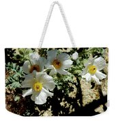 Silver Terrace Virginia City Nevada Flowers Weekender Tote Bag