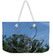 Silver Tree Weekender Tote Bag