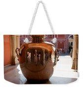 Silver Water Urn Jaipur Weekender Tote Bag