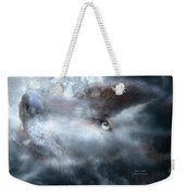 Silver Wolf Weekender Tote Bag