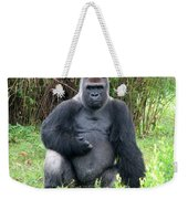 Silverback Gorilla 2 Weekender Tote Bag