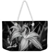 Silvered Lily Weekender Tote Bag