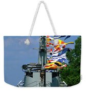 Silversides Flags Weekender Tote Bag