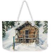 Silvertip Lodge Weekender Tote Bag