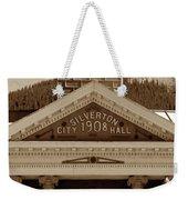 Silverton City Hall 1908 Weekender Tote Bag