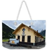 Silverton Train Depot Weekender Tote Bag