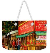 Simchas  Fruit Store Weekender Tote Bag