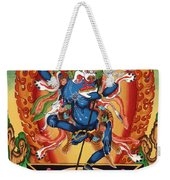 Simhamukha - Lion Face Dakini Weekender Tote Bag