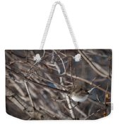 Simple Bird Weekender Tote Bag