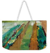 Simple Fields Weekender Tote Bag