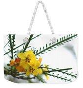 Simple Flower Weekender Tote Bag