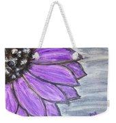Simple Purple  Weekender Tote Bag