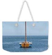 Simple Sailboat  Weekender Tote Bag