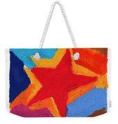 Simple Star Weekender Tote Bag