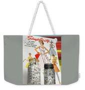 Simplicity Vintage Sewing Pattern - Color Weekender Tote Bag