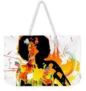 Simplistic Splatter Weekender Tote Bag