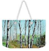 Simply Birches Weekender Tote Bag