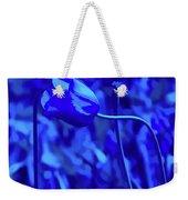 Simply Blue Pink Tulip Weekender Tote Bag