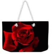 Simply Red Rose Weekender Tote Bag