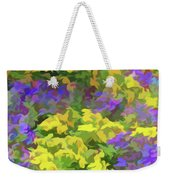 Simply Soft Colorful Garden Weekender Tote Bag