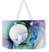 Simulated Colored Smoke Weekender Tote Bag