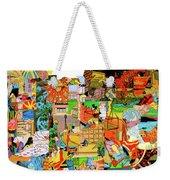 Simultaneous Dimensions #1 Weekender Tote Bag