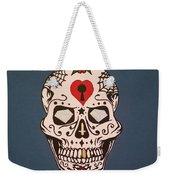 Sin Sugar Skull Weekender Tote Bag