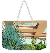 Sinatra Patio Palm Springs Weekender Tote Bag