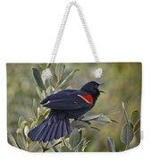 Sing Me A Song, Red-winged Blackbird Weekender Tote Bag
