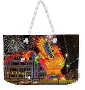 Singapore Chinatown 2017 Lunar New Year Fireworks Weekender Tote Bag