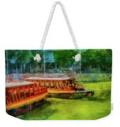 Singapore River Boats Weekender Tote Bag
