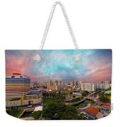 Singapore Rochor Commercial And Residential Mixed Area Weekender Tote Bag