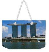 Singapore Ship Top Weekender Tote Bag
