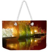 Singapore Temple Offering Lamps Weekender Tote Bag