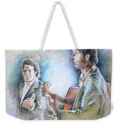 Singer And Guitarist Flamenco Weekender Tote Bag