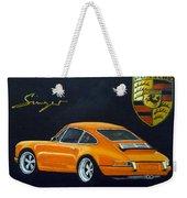 Singer Porsche Weekender Tote Bag