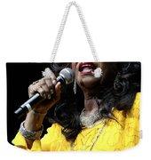 Singer Shirley Alston Reeves  Weekender Tote Bag