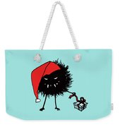Singing And Dancing Evil Christmas Bug Weekender Tote Bag