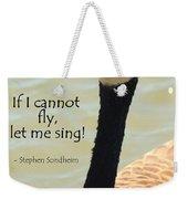 Singing Goose Weekender Tote Bag