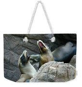Singing Sea Lions Weekender Tote Bag