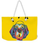 Singing The Blues - Dog Humor Weekender Tote Bag