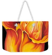 Singing Tulip Weekender Tote Bag