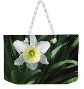 Single Daffodil Weekender Tote Bag