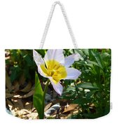Single Flower - Simplify Series Weekender Tote Bag