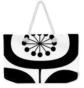Single Flower 2  Weekender Tote Bag