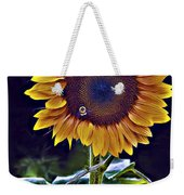Single Flower Weekender Tote Bag