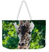 Single Giraffe Weekender Tote Bag