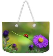 Single In Search Weekender Tote Bag by Christina Rollo