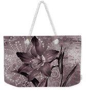 Single Lily-vintage Series  Weekender Tote Bag