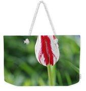Single Lovely Tulip Weekender Tote Bag